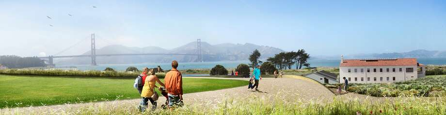 This is one of the overlooks from the tunnel top park. Photo: Presidio Trust/courtesy
