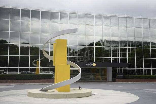 The Synchrony Financial headquarters in Stamford, Conn. Tuesday, Aug. 2, 2016. Synchrony's fitness center, which opened in January 2016, health center, which opened in December 2015, and revamped cafeteria are key parts of its Health 360 program.
