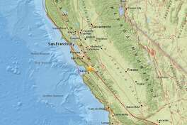 A magnitude 2.8 earthquake hit two miles west-northwest of San Juan Bautista on Oct. 28 at 11:14:56 a.m.