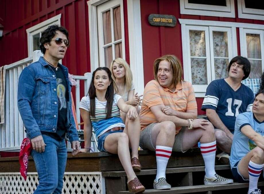 """25. """"Wet Hot American Summer: First Day of Camp""""A prequel to the movie """"Wet Hot American Summer,"""" the Netflix series brings together a huge number of hilarious people for a zany parody of 1980s summer camp movies. Nothing makes sense and everything is ridiculous. It's great. Photo: Abominable Pictures / Netflix"""