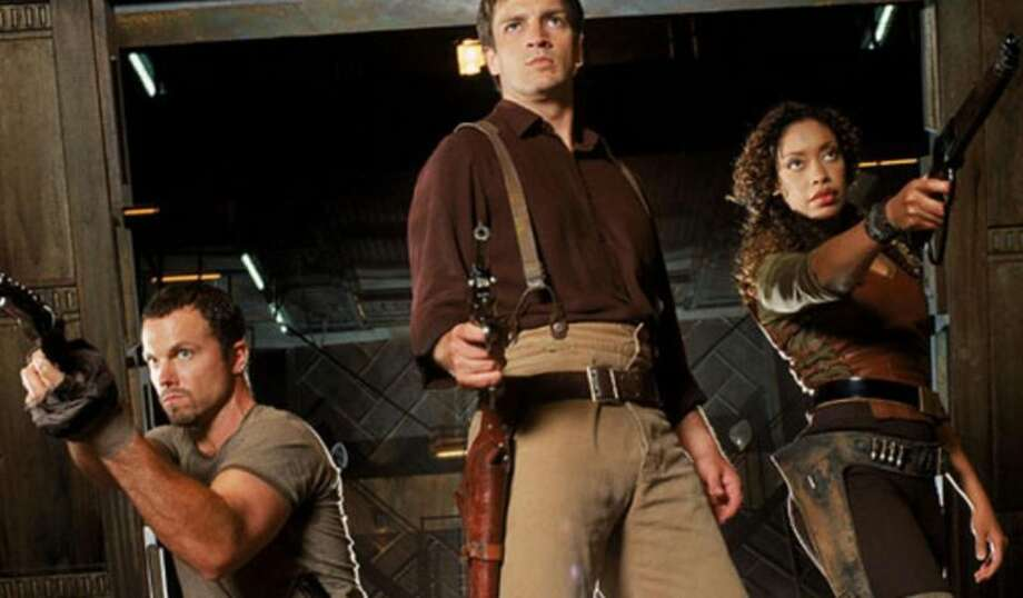 Firefly The crew of a small transport ship experience a cosmic civil war.>>Keep clicking for a look at the best TV shows you can watch in one weekend.  Photo: 20th Century Fox Television