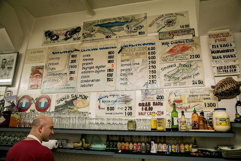 The interior of Swan Oyster Depot on Polk Street in S.F. Photo: John Storey, Special To The Chronicle