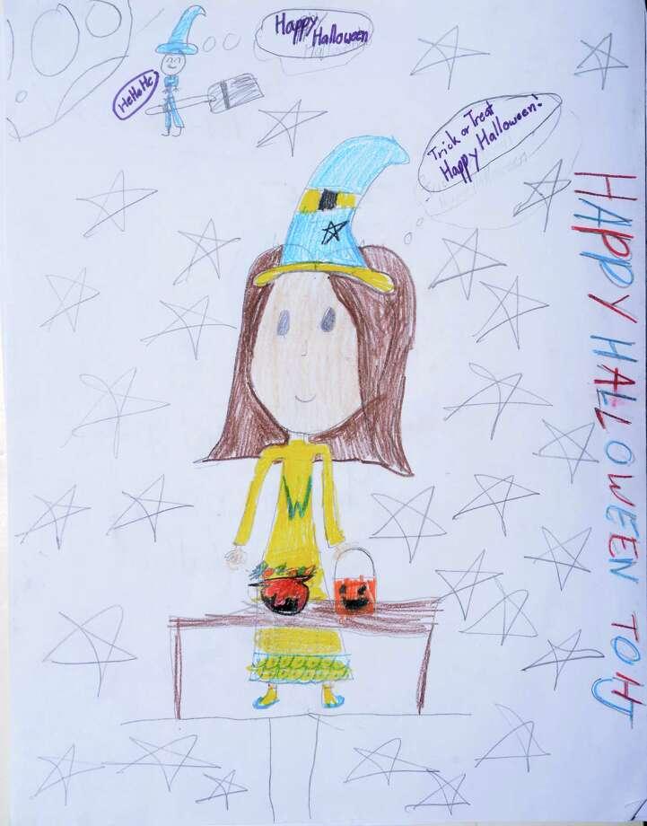 Emma Miller, 9, Sour Lake Elementary Photo: Guiseppe Barranco, Photo Editor