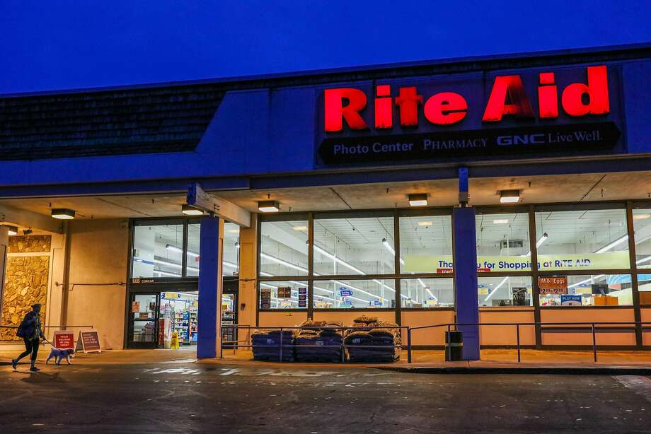 A Rite Aid pharmacy at 666 Concar Drive in San Mateo has sued the developer of a nearby office complex over dewatering at the project site that it says caused the store's floor to crack and sink up to 9 inches in some places. Photo: Gabrielle Lurie, The Chronicle