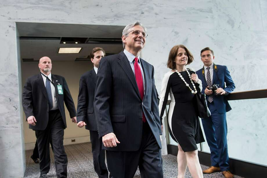 Merrick Garland Photo: BRENDAN SMIALOWSKI, AFP/Getty Images