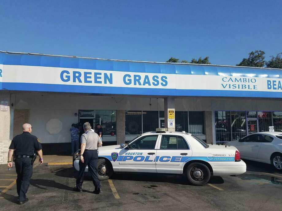 A tipster told the Harris County District Attorney's Office that large amounts of money was coming out of Green Grass game room, which was raided on Friday.  Photo: Brooke A. Lewis