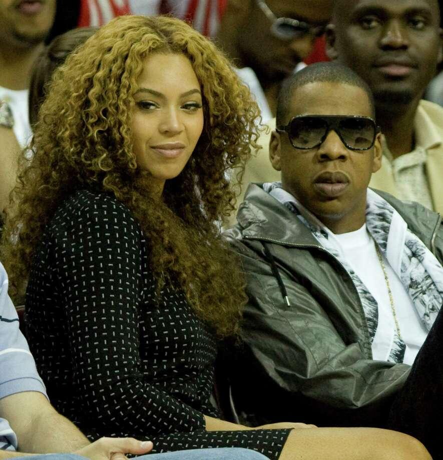 Houston native Beyonce' and her husband, Jay-Z.(Photo: Brett Coomer /Chronicle ) Photo: Brett Coomer, Staff / © Houston Chronicle