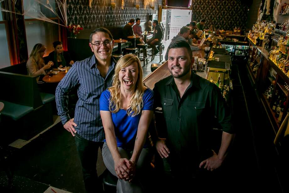 Co-owners Ryan Gilbert (left), Alicia Walton and Tommy Shaw at the Sea Star in the Dogpatch neighborhood of S.F. Photo: John Storey, Special To The Chronicle