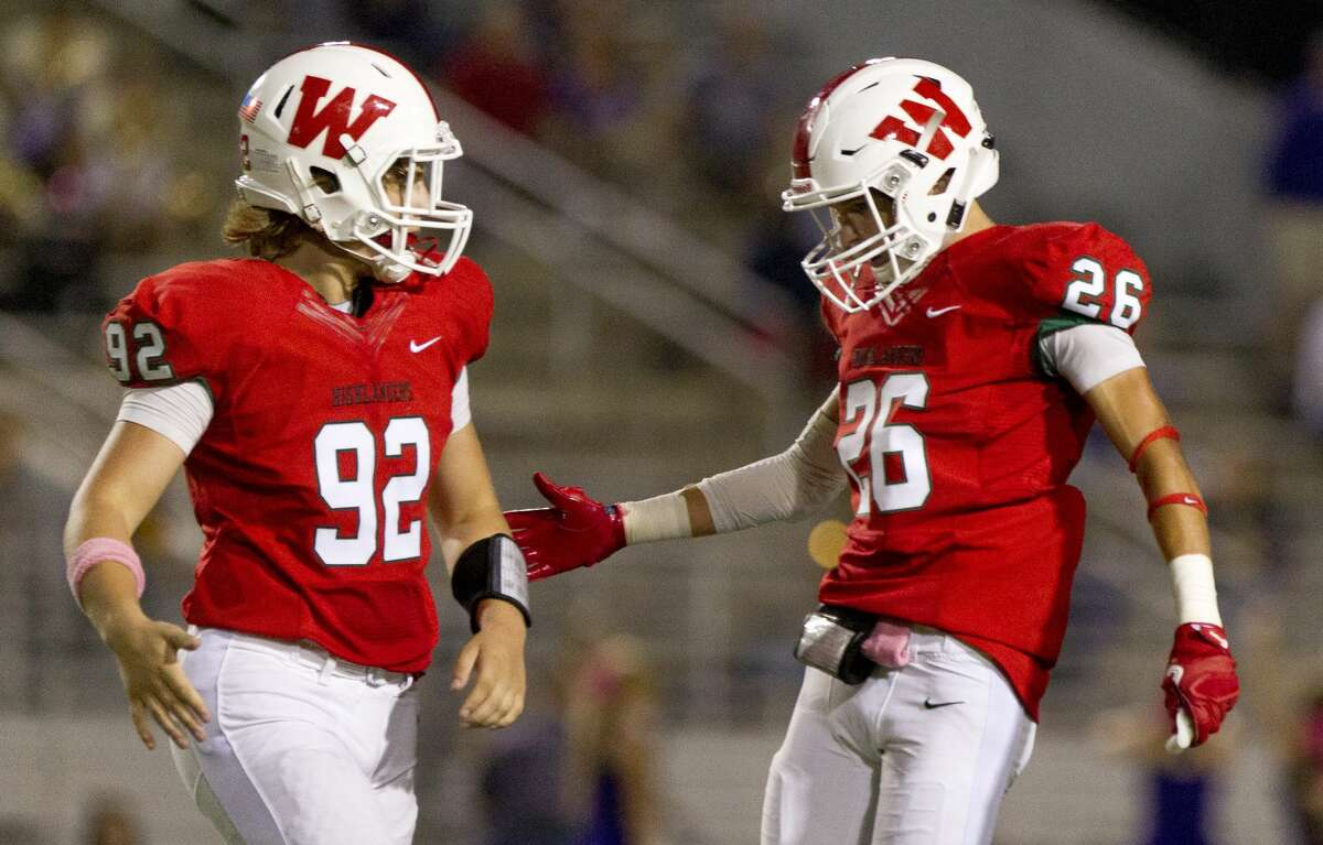 CLASS 6A 1. The Woodlands (9-0) This week: vs. College Park (1-8), 7:30 p.m. Friday at Woodforest