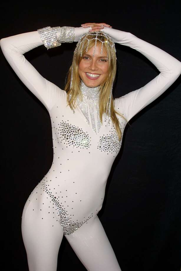 2001:Heidi Klum as Lady Godiva Photo: DMIPhoto/FilmMagic