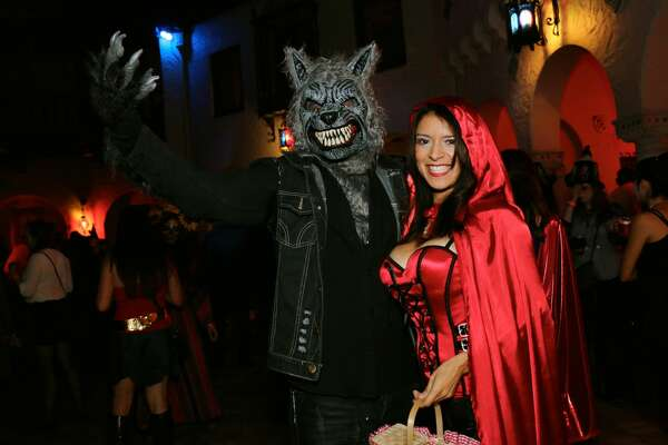 Guests crawled, slithered and staggered to the McNay in their creepiest costumes for the museum's chic Halloween party where they were entertained with music, drinks, art, food trucks and trick-or-treating Friday night, Oct. 28,2016.
