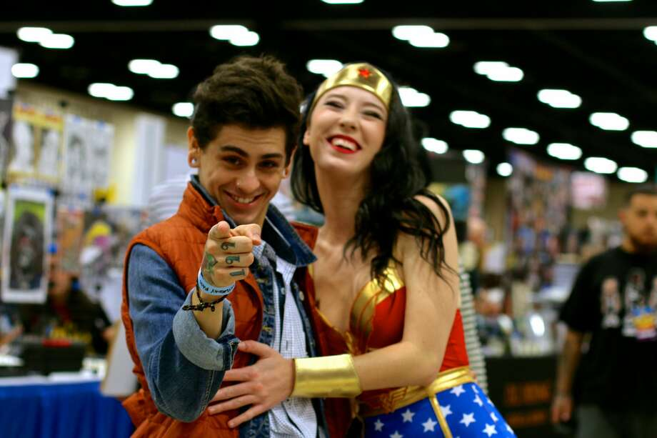 Costumed crusaders took over the Convention Center and the streets of downtown San Antonio for the annual geek extravaganza Alamo City Comic Con Saturday, Oct. 29, 2016. Photo: By Yvonne Zamora, For MySA