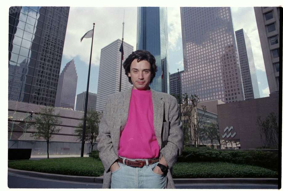 Weeks before the concert, French composer Jean-Michel Jarre had been a virtual nobody in the city.  Photo: Buster Dean, HC Staff / Houston Chronicle