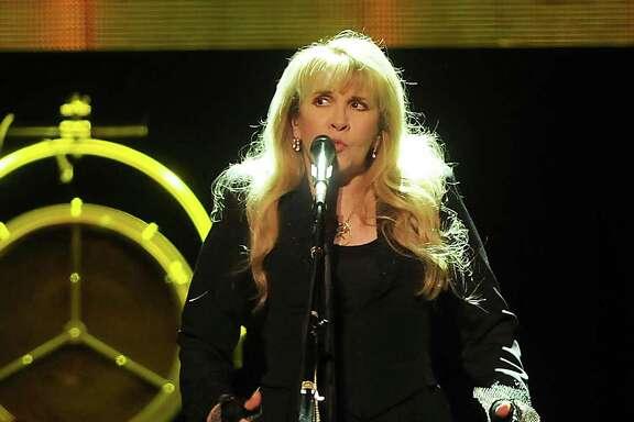 Stevie Nicks performs during her 24 Karat Gold Tour at the Toyota Center Saturday Oct. 29,2016.(Dave Rossman photo)