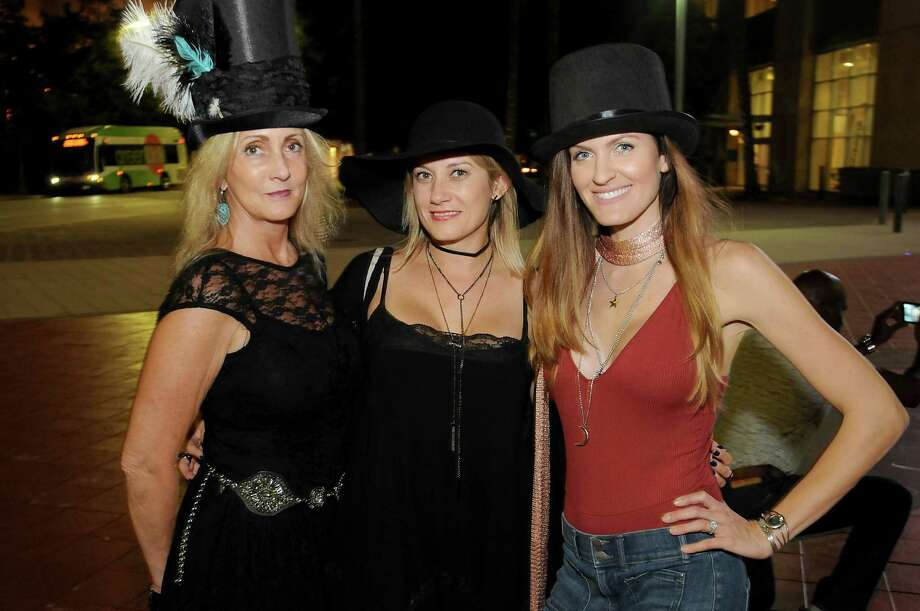 Fans outside the Stevie Nicks concert at the Toyota Center Saturday Oct. 29,2016.(Dave Rossman photo) Photo: Dave Rossman, For The Chronicle / Dave Rossman