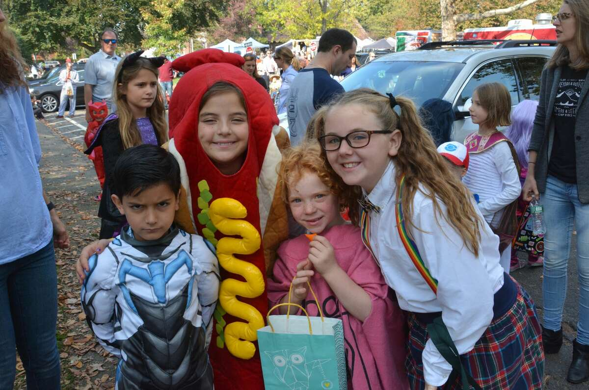 Halloween on the Green was held at the Fairfield Museum in Fairfield on October 30, 2016.