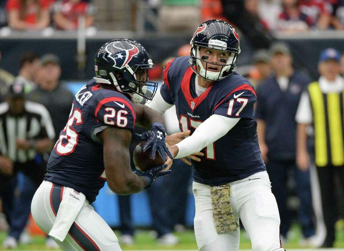 Texans at Jaguars: McClain - Texans Robertson - Texans Wilson - Texans Solomon - Jaguars Smith - Texans Creech - Texans