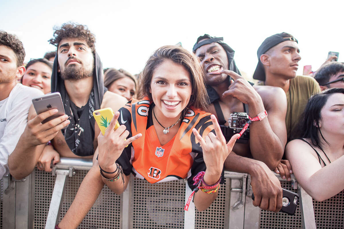 Keep clicking to view the best photos from Mala Luna.The EDM and hip-hop fest Mala Luna Music Festival, this weekend at Lone Star Brewery, launched the San Antonio music festival scene into uncharted waters as thousands gathered to watch and hear more than 20 artists.