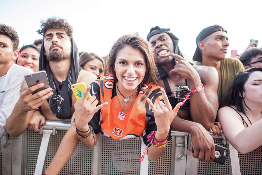 Keep clicking to view the best photos from Mala Luna.The EDM and hip-hop fest Mala Luna Music Festival, this weekend at Lone Star Brewery, launched the San Antonio music festival scene into uncharted waters as thousands gathered to watch and hear more than 20 artists. Photo: By Chavis Barron, For MySA