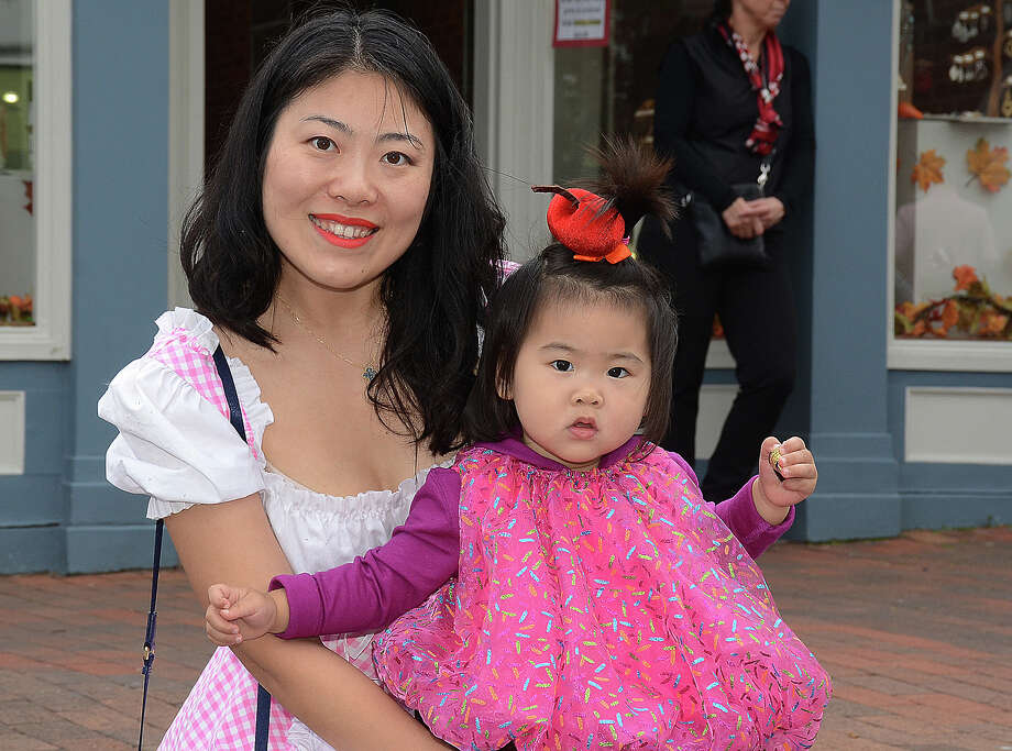 New Canaan's annual Halloween parade put on by the Chamber of Commerce was held on October 30, 2016. Guests enjoyed a costume contest, balloon animals, live music and more. Were you SEEN? Photo: J.C. Martin, Hearst Connecticut / Stamford Advocate