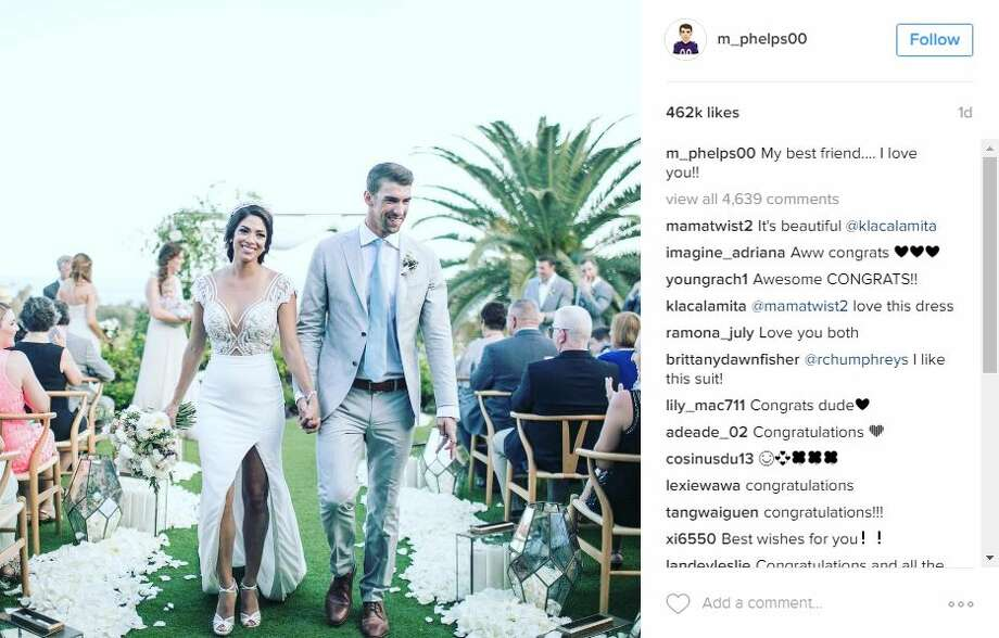 Michael Phelps Has Beach Wedding Months After Legal Marriage San