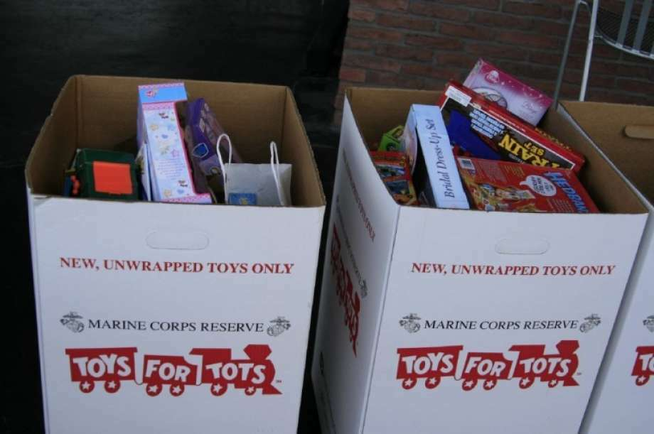 Toys For Tots Box : Toys for tots taking donations in kingwood atascocita