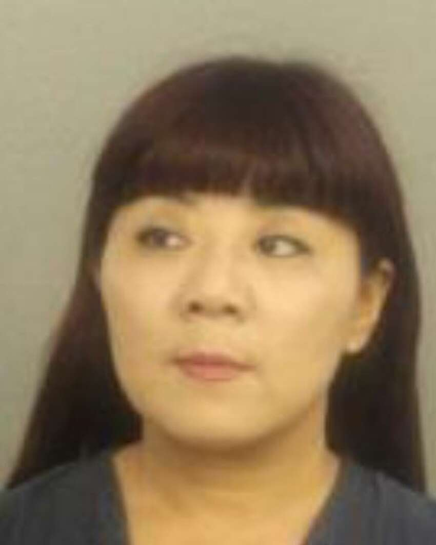 The Hollywood Police Department in Hollywood, Florida arrested Roulan Zhu for soliciting for prostitution, practicing without a license and misrepresenting herself as a licensed masseur at Asian Massage.