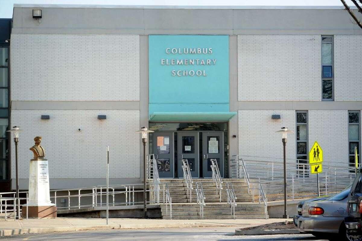 Columbus School, 275 George St. in Bridgeport, Conn., Jan. 17, 2014.