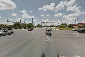 A motorcyclist being chased by a Bexar County constable on Friday, Oct. 28, 2016, was traveling southbound on Blanco Road when he ran a red light at Huebner Road, and struck two vehicles. The motorcyclist died from multiple injuries.