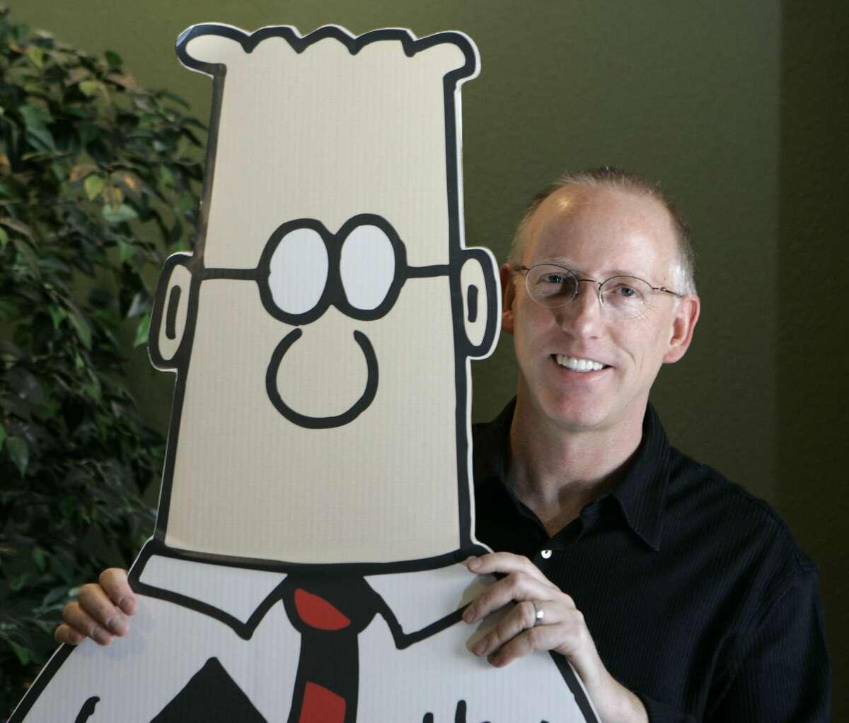 Scott Adams, creator of the comic strip Dilbert, in 2006.