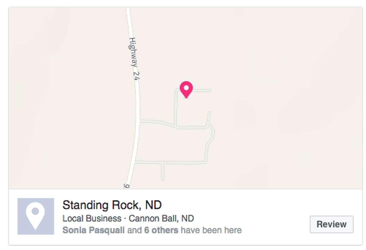 A viral Facebook post is urging users to check in at Standing Rock to prevent police from geo-targeting those protesting the construction of the four-state Dakota Access Pipeline.