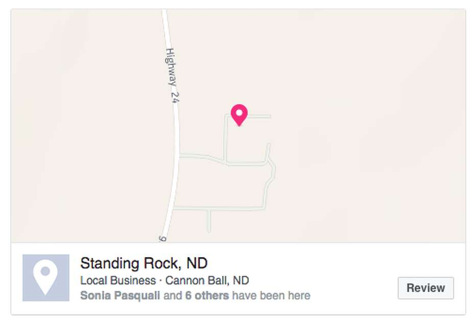 A viral Facebook post is urging users to check in at Standing Rock to prevent police from geo-targeting those protesting the construction of the four-state Dakota Access Pipeline. Photo: Facebook