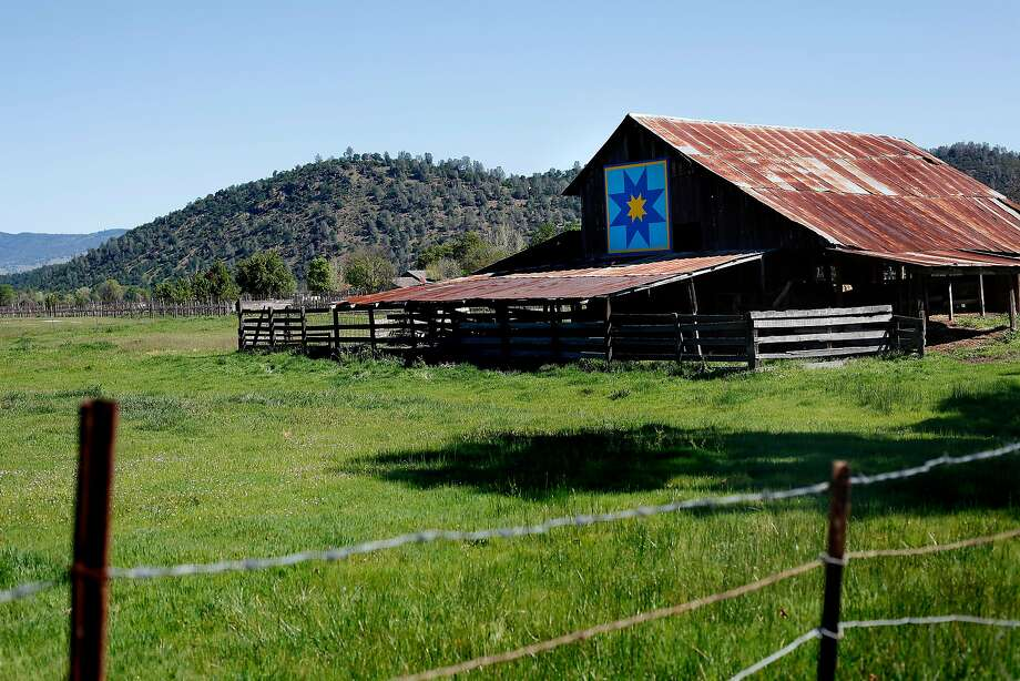 A quilt on a barn is part of the Quilt Trail in Big Valley, Calif., on Saturday, March 28, 2015. Photo: Sarah Rice, Special To The Chronicle