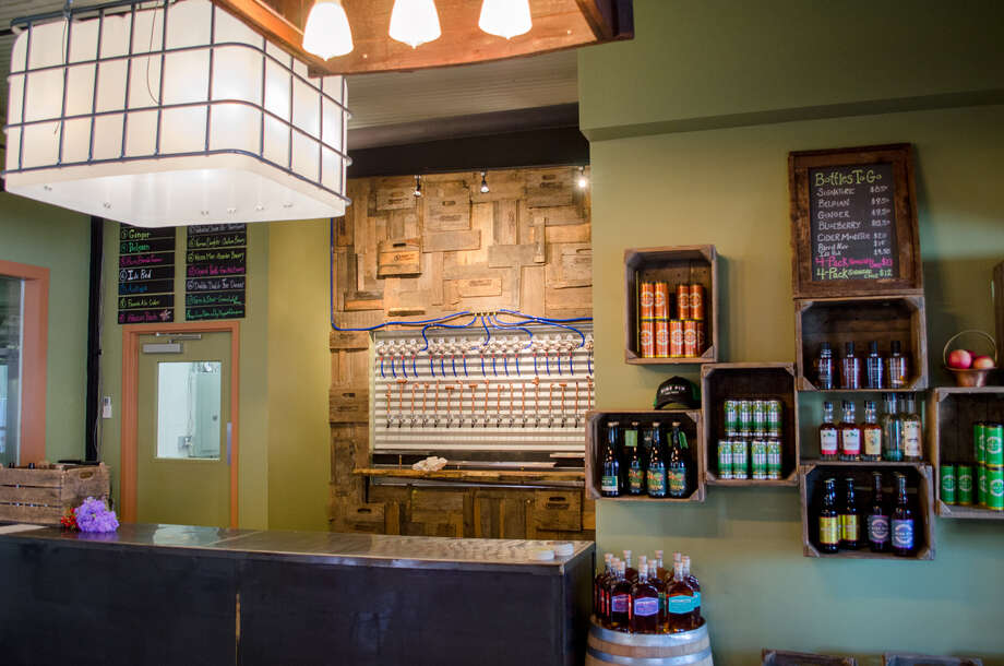 Nine Pin Cider in Albany is acraft cider company producing hard cider from 100% Capital District and Hudson Valley apples. Keep clicking to see the before and after photos of their recent renovation. Photo: Nine Pin Cider