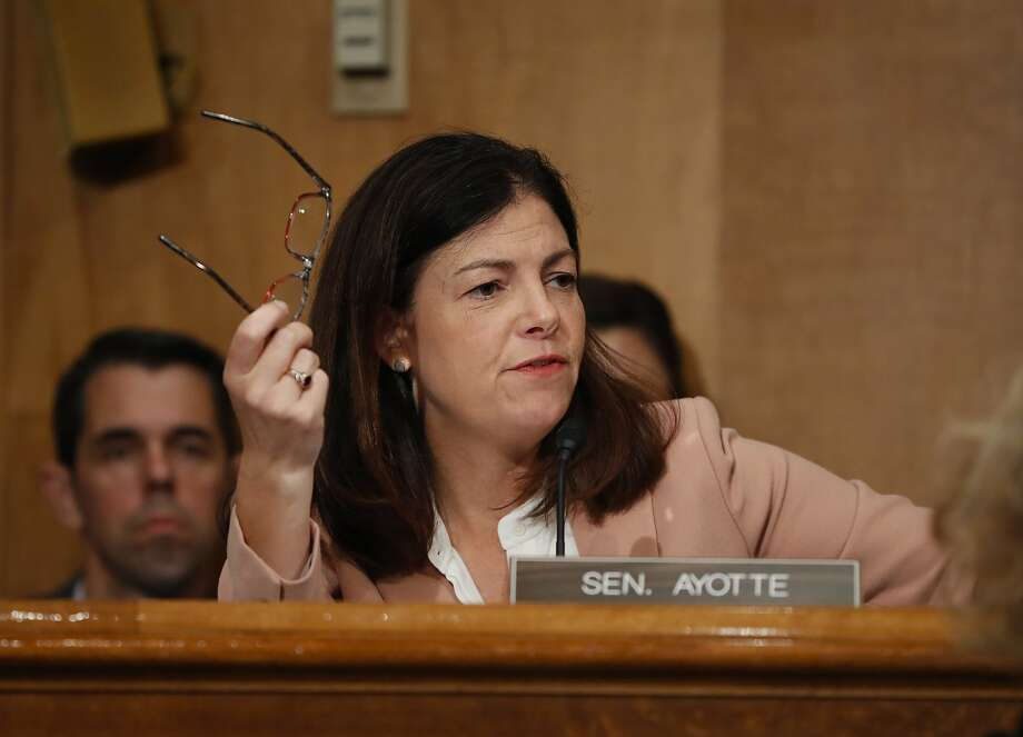 Kelly Ayotte of New Hampshire is one of several Republican senators at risk of losing their seats. Photo: Pablo Martinez Monsivais, Associated Press