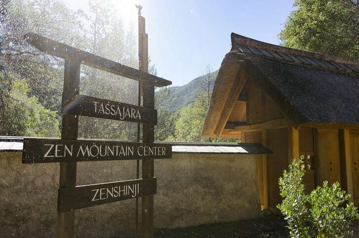 The entrance to Tassajara Zen Center in Jamesburg, CA, on Thursday October 20, 2016.