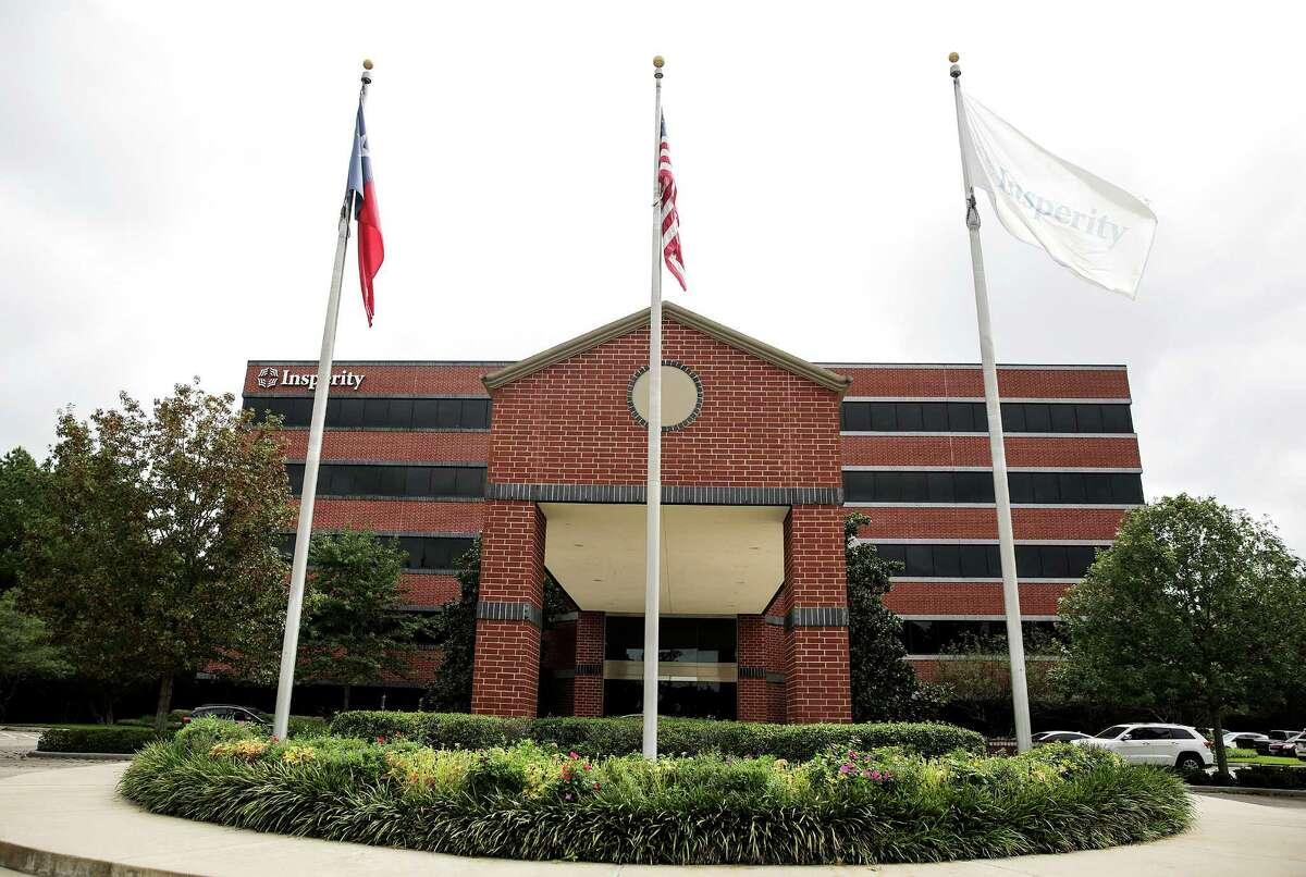 The Houston headquarters of Insperity Inc., photographed on Monday, Sept. 26, 2016, in Houston. ( Elizabeth Conley / Houston Chronicle )