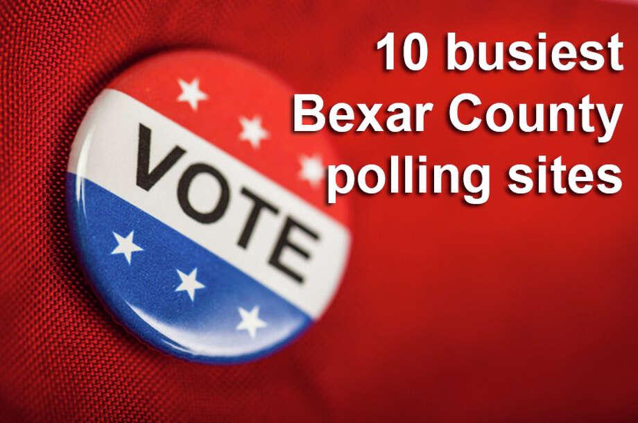 10 busiest early voting polls in Bexar County - San Antonio ...