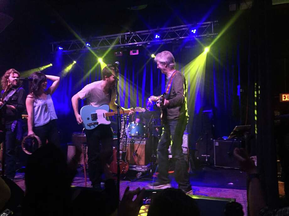 Grateful Dead founding member Phil Lesh, whose son Grahame is in the band Midnight North, made an appearance at The Acoustic in Bridgeport, on Sunday, Oct. 30, 2016. Photo: Contributed: Marty McCarthy