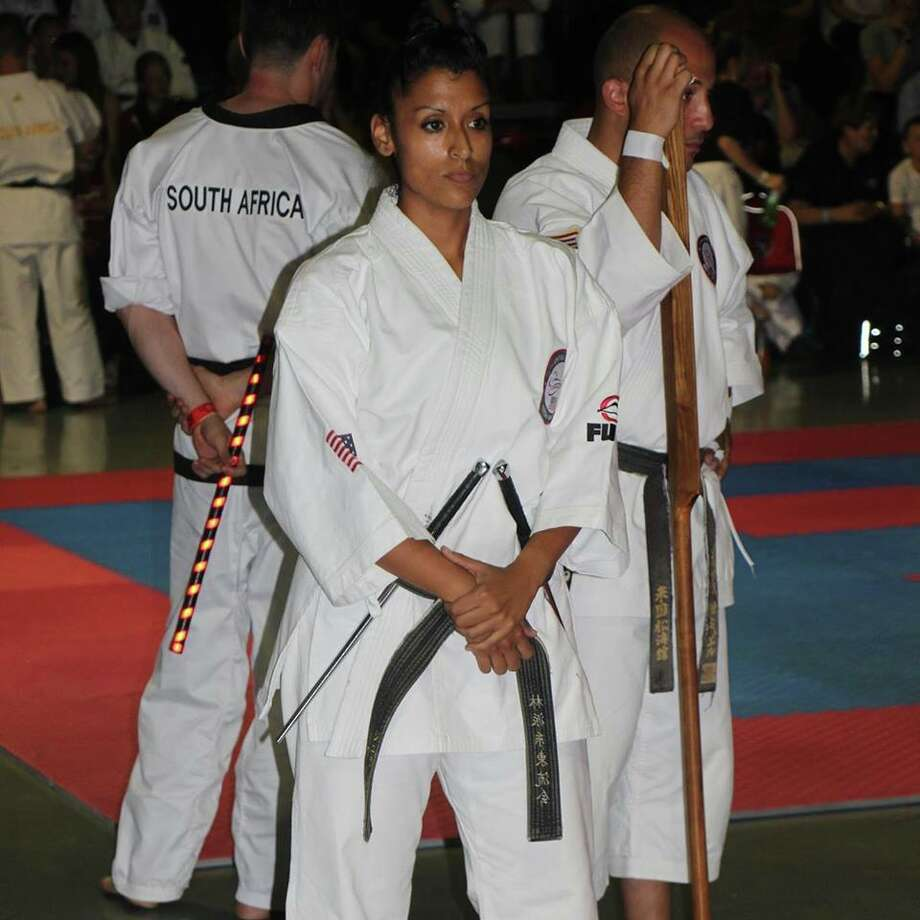 San Antonio's karate scene was represented on the global level this month when Sierra Luna participated with the U.S. national team and brought home a world championship. Photo: Provided By Sierra Luna