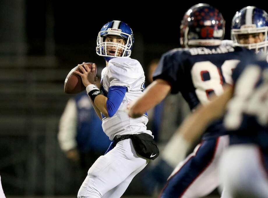 Analy quarterback Jack Newman has 35 TD passes and only one interception for his 8-1 team. Photo: Dennis Lee/MaxPreps