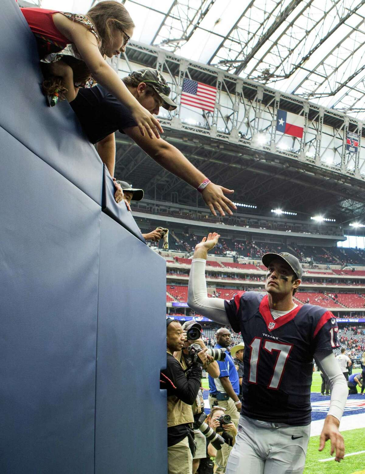 Brock Osweiler, who has been the subject of fan criticism, earned some peace of mind with Sunday's win.