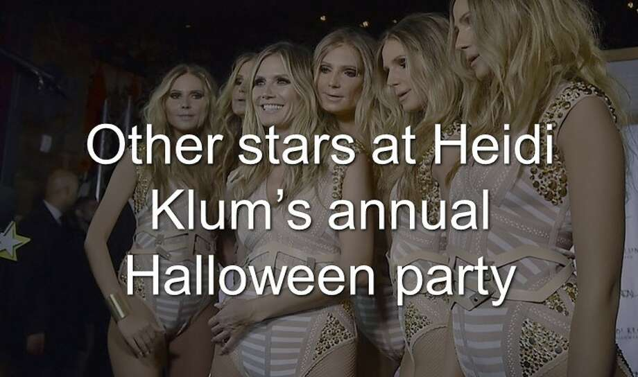 Continue clicking to see the other stars in attendance at Heidi Klum's annual Halloween bash. Photo: Evan Agostini / AP Photo
