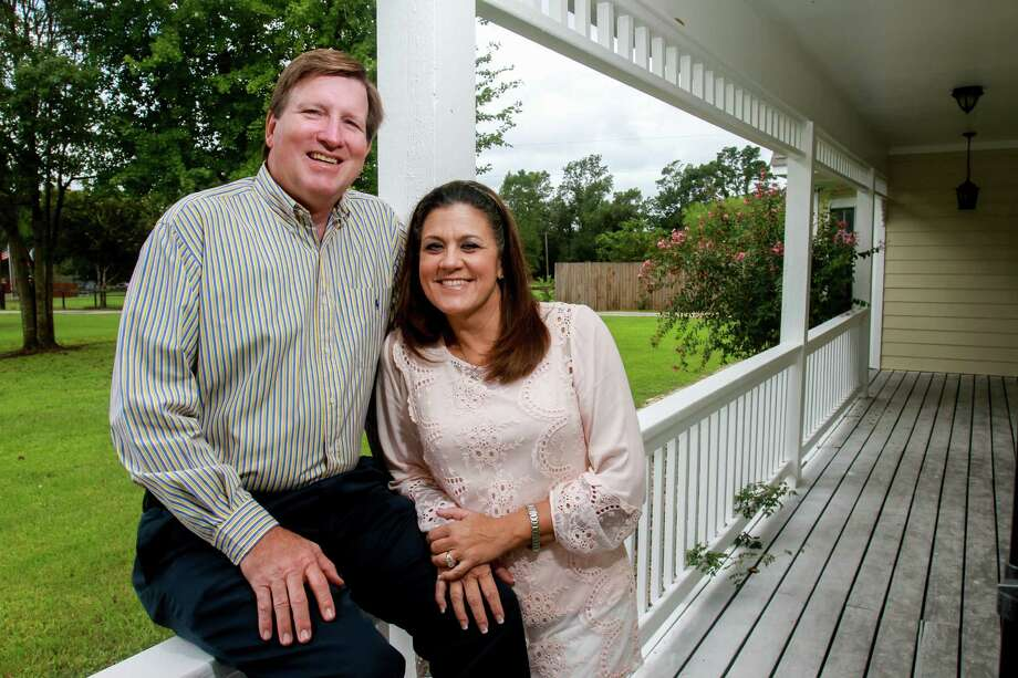 Hal and Cherie Wychopen of Texas Saffire, which has relocated to new offices in Magnolia. Photo: Gary Fountain, For The Chronicle / Copyright 2016 Gary Fountain