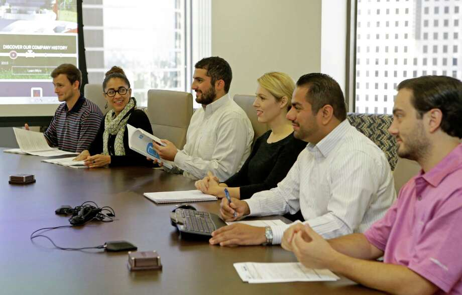Plains All American ranked fourth among large companies in the Houston's Chronicle 2016 Top Workplaces list. The company's work environment won plenty of praise. Photo: Melissa Phillip, Staff / © 2016 Houston Chronicle