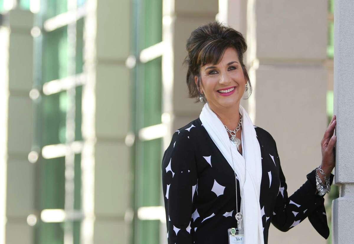 Alief Independent School District assistant superintendent Elizabeth Veloz-Powell, Sunday, Oct. 16, 2016, in Houston. ( Mark Mulligan / Houston Chronicle )