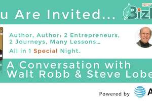 Walt Robb, Steve Lobel appearing at BizLab on Nov. 16 - Photo