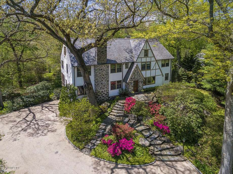 80 Glenville Rd, Greenwich, CT 06831  5 beds 6 baths 6,486 sqft  Open House: 11/6 1pm-4pm Features: Two large family rooms, library, screened porch, au pair or maids wing located off of the  kitchen View full listing on Zillow Photo: Zillow