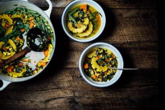 A Brown Kitchen lentil stew