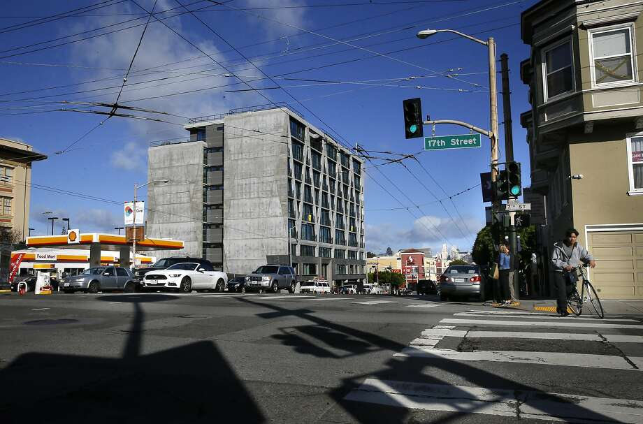 The newly constructed building at 338 Potrero Ave. in San Francisco, California as seen on Tuesday November 1, 2016. Photo: Michael Macor, The Chronicle